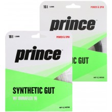 CORDAJE PRINCE SUPER SYNTHETIC GUT DURAFLEX 16 (12 METROS)