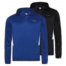 SUDADERA CON CAPUCHA HEAD  CLUB TECH 1/2 ZIPPE