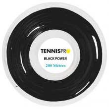 BOBINA TENNISPRO BLACK POWER (220 METROS)