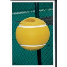 Papelera Pelota de Tenis Amarilla