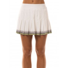FALDA LUCKY IN LOVE LONG MANHATTAN PLEATED
