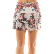 JUPE LUCKY IN LOVE HI PHOENIX RISING PLEATED SCALLOP