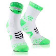 CALCETINES CORTOS COMPRESSPORT RACKET STRAPPING PRO RACING
