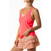 CAMISETA DE TIRANTES LUCKY IN LOVE LIT KNOTTED