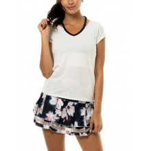CAMISETA LUCKY IN LOVE COL V CUTOUT