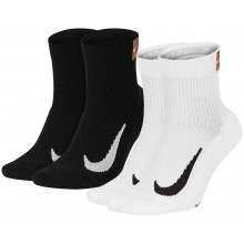 2 PARES DE CALCETINES NIKE MUJER ANKLE