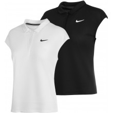 POLO NIKE COURT FEMME VICTORY DRI-FIT POLYESTER SANS MANCHE