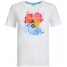T-SHIRT JUNIOR GARCON AUSTRALIAN OPEN 2021 SPLATTER