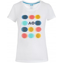 T-SHIRT AUSTRALIAN OPEN 2021 FEMME PLAYFUL CIRCLE