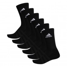 6 PARES DE CALCETINES ADIDAS CUSHION CREW