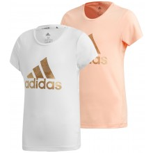T-SHIRT ADIDAS TRAINING JUNIOR FILLE LOGO
