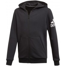SWEAT A CAPUCHE ADIDAS ZIPPE TRAINING JUNIOR BOS LOGO FLEECE