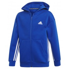 SUDADERA CON CAPUCHA ADIDAS ZIPPE TRAINING JUNIOR MUST HAVE 3S
