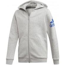 SUDADERA CON CAPUCHA Y CREMALLERA ADIDAS TRAINING JUNIOR MUST HAVE BOS