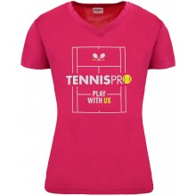 CAMISETA TENNISPRO PLAY WITH US