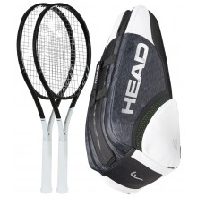 PAQUETE HEAD GRAPHENE 360 SPEED MP 2 RAQUETAS + 1 RAQUETERO = 10%