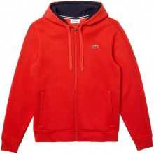 SWEAT ZIPPE A CAPUCHE LACOSTE