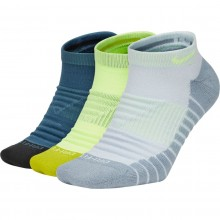 3 PARES DE CALCETINES NIKE MAX CUSHION INVISIBLE