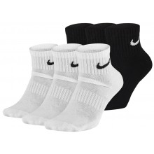 3 PARES DE CALCETINES NIKE CUSHION EVERYDAY  BAJOS