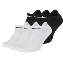 3 PARES DE CALCETINES NIKE CUSHION EVERYDAY EXTRA BAJOS