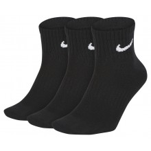3 PARES  DE CALCETINES NIKE LIGHTWEIGHT ANKLE
