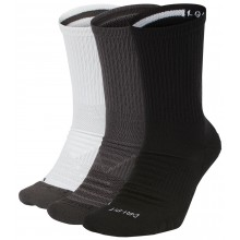 3 PARES  DE CALCETINES NIKE CUSHION SWOOSH MEDIA ALTURA