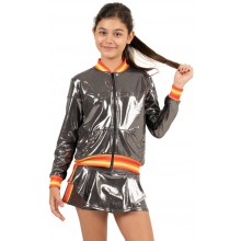 CHAQUETA LUCKY IN LOVE JUNIOR METALLIC GROOVY STRIPE