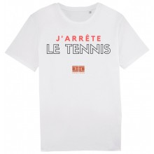 CAMISETA TENNIS LEGEND J'ARRETE LE TENNIS