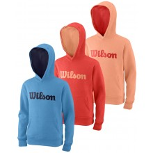 SUDADERA WILSON JUNIOR SCRIPT COTTON
