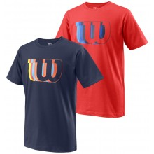 CAMISETA WILSON JUNIOR BLUR TECH