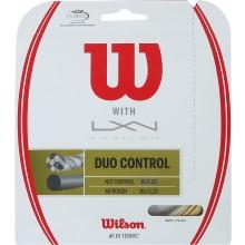 CORDAJE WILSON DUO CONTROL: LUXILON 4G & WILSON NXT CONTROL 1.25 (12.20 METROS)