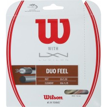 CORDAJE WILSON DUO FEEL: LUXILON ELEMENT & WILSON NXT 1.25 (12.20 METROS)