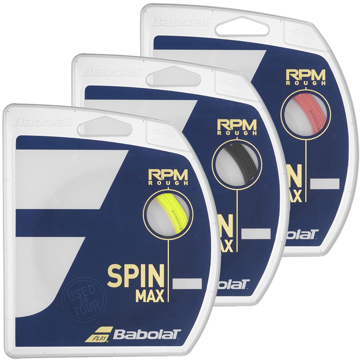 CORDAJE BABOLAT RPM BLAST ROUGH (12 METROS)
