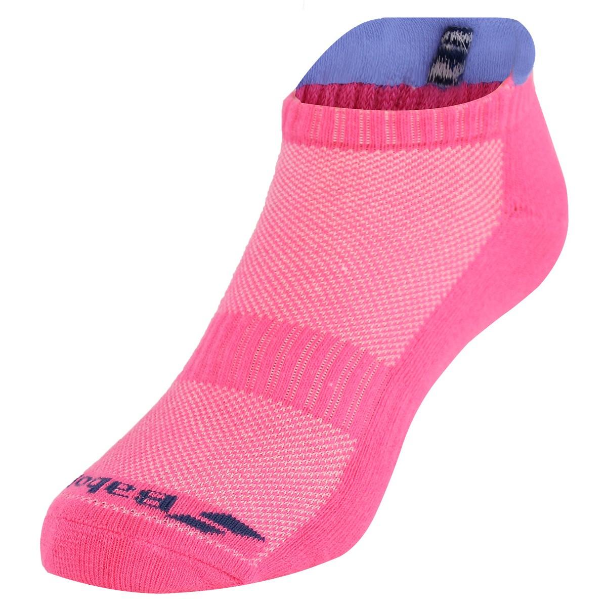 Babolat 2 pares Calcetines de tenis invisibles para mujer