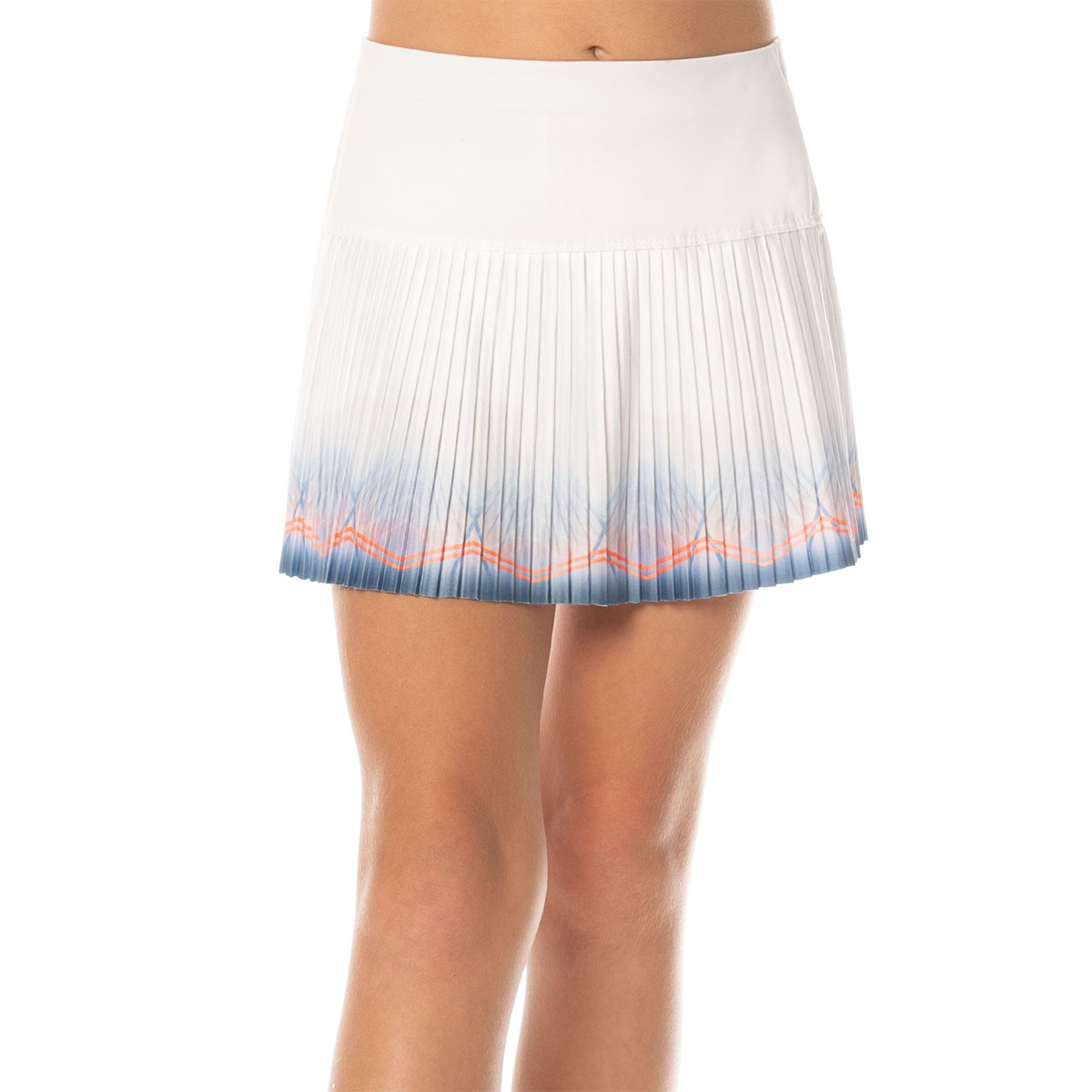 FALDA LUCKY IN LOVE JUNIOR ASTRAL PLEATED