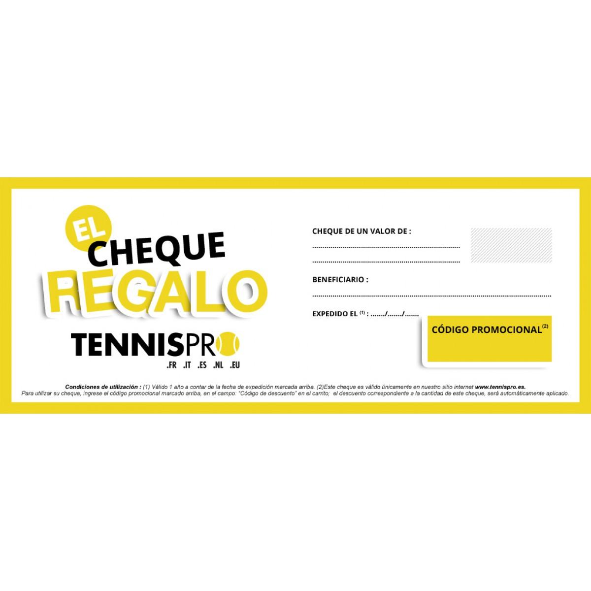 CHEQUE REGALO TENNISPRO