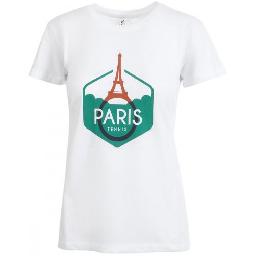 CAMISETA  MUJER PERFORMANCE PARIS