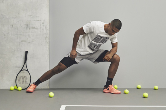 Tenues Nike on court